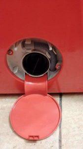 Filter črpalke - čiščenje pralnega stroja