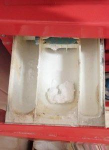 Predal za detergent-čiščenje pralnega stroja